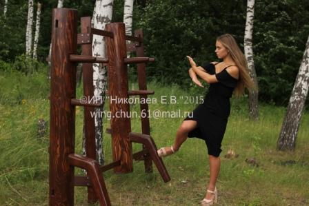 деревянный манекен вин чун