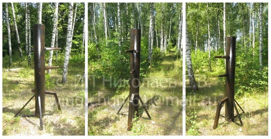 вин чун деревянный манекен крестовая опора